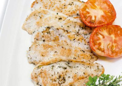 Filete Pollo a las Finas Hierbas