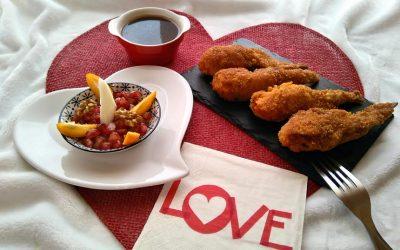 Alitas de pollo Nutrave | San Valentín