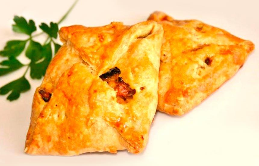 Mini empanada de pollo Nutrave