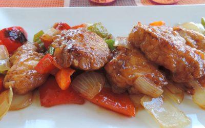 Pechugas de pollo Nutrave a la salsa de soja