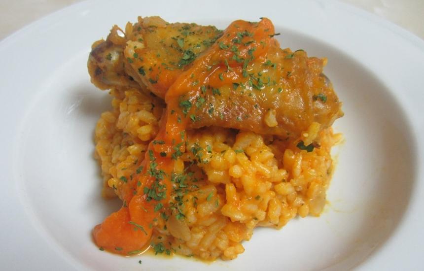 Arroz con pollo y calabaza | Nutrave
