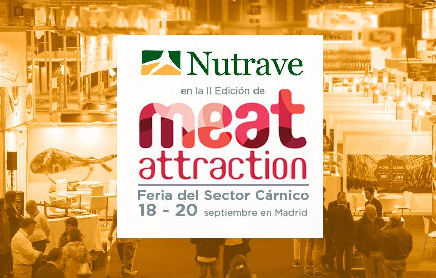 Nutrave participará en Meat Attraction 2018
