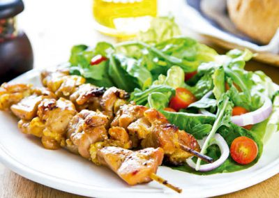 Andalusian-Style Chicken Brochette