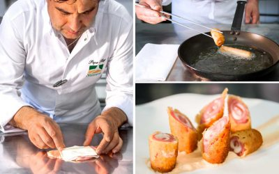 Breaded Nutrave chicken rolls – Pepe Rodríguez