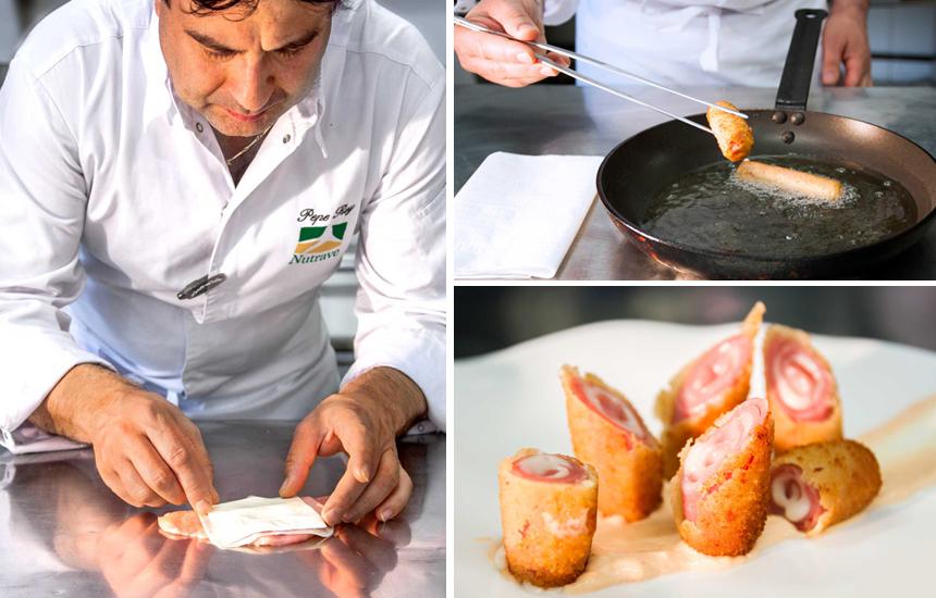 Flamenquines de pollo Nutrave por Pepe Rodríguez