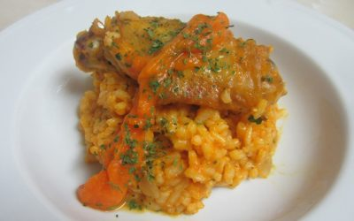 Rice with chicken and pumpkin | Nutrave
