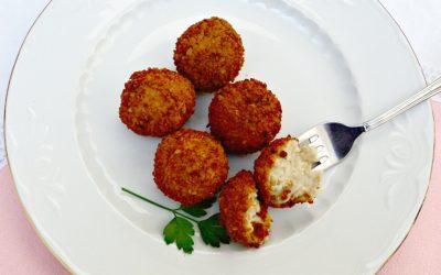 Croquetas de pollo Nutrave y setas