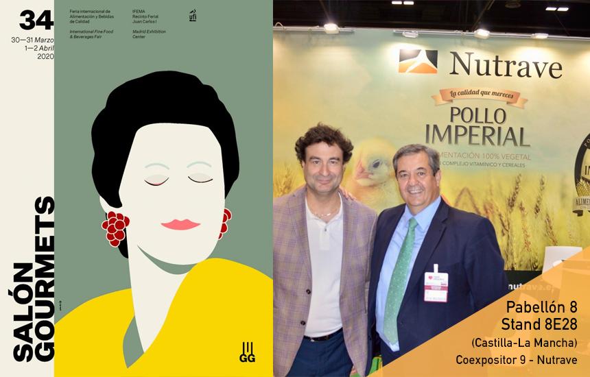 Nutrave participará en la 34º Edición del Salón Gourmets del 30 de marzo al 2 de abril